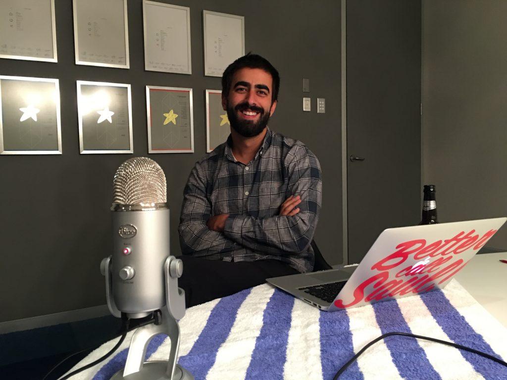Saul Flores recording MATE 005